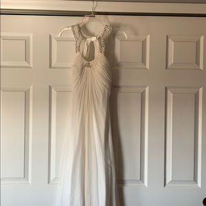 Prom Styled Open Back, Elegant Dress